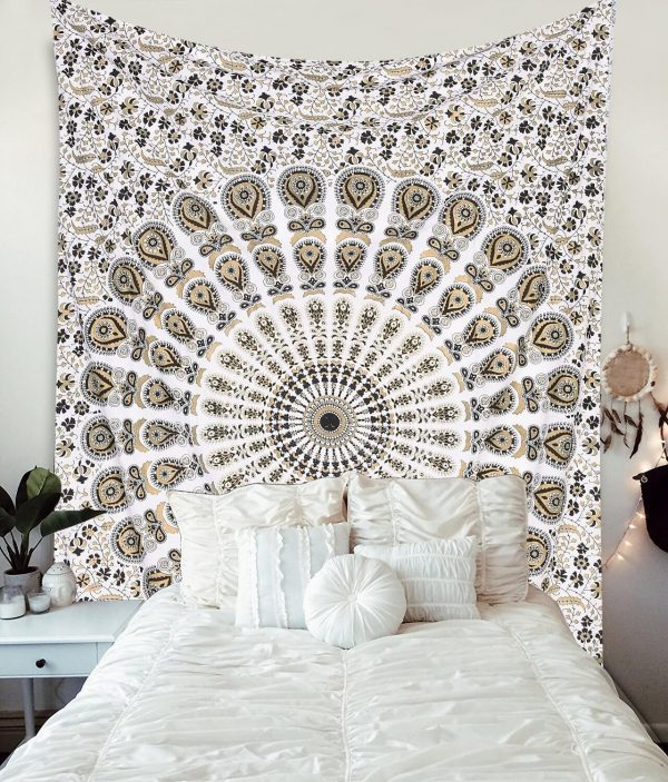 Gold and Black Tapestries