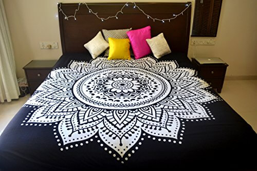 Black and White Ombre Tapestries