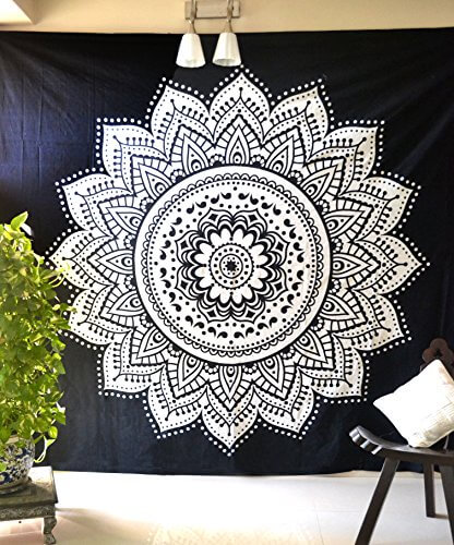 Black and White Wall Hanging Tapestries