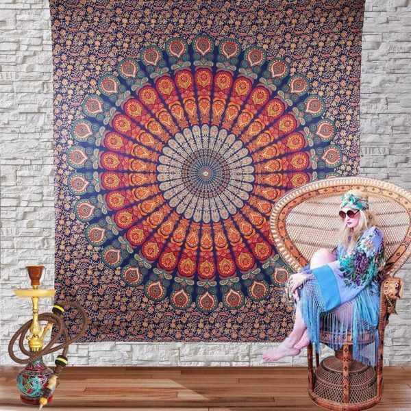 Multicolor Wall Hanging Tapestry